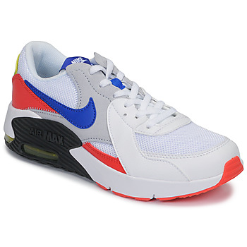 Shoes Children Low top trainers Nike AIR MAX EXCEE GS White / Blue / Red