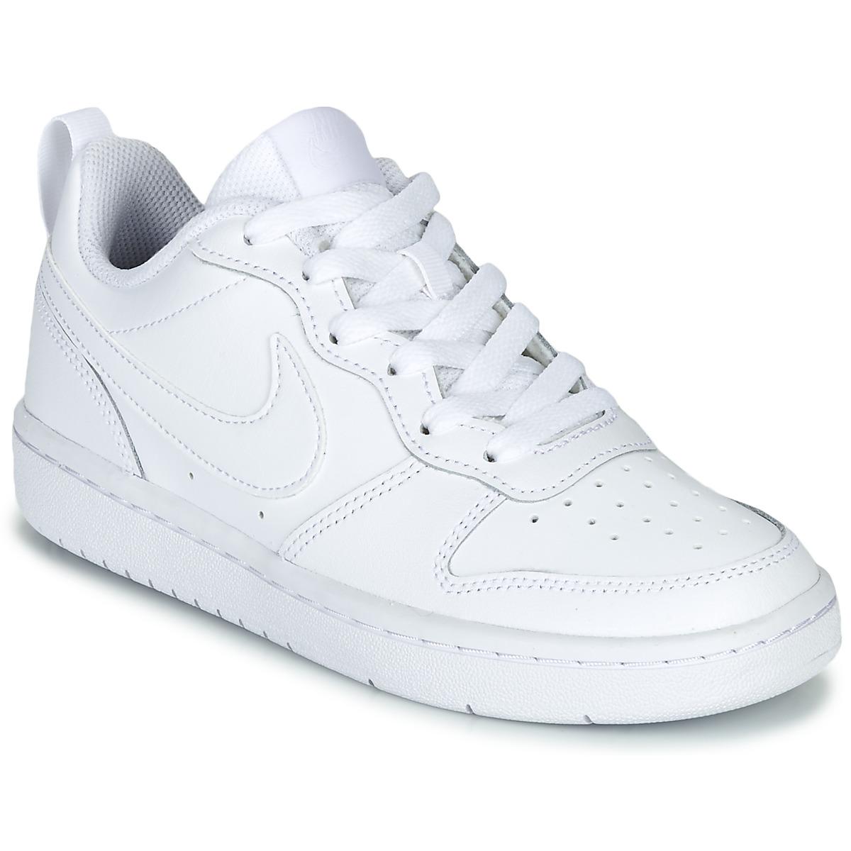 Nike COURT BOROUGH LOW 2 GS White