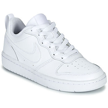Shoes Children Low top trainers Nike COURT BOROUGH LOW 2 GS White
