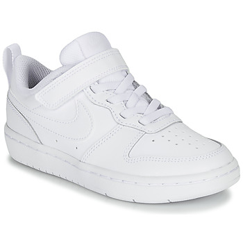 Shoes Children Low top trainers Nike COURT BOROUGH LOW 2 PS White