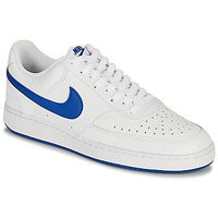 Shoes Men Low top trainers Nike COURT VISION LOW White / Blue