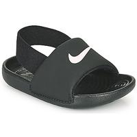 Shoes Children Sliders Nike KAWA TD Black