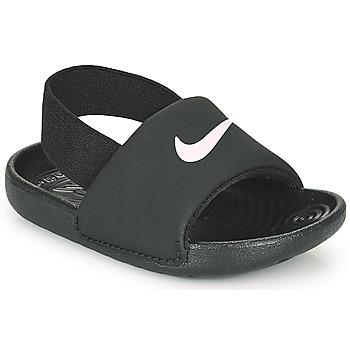 Shoes Children Sandals Nike KAWA TD Black