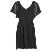 material Women Short Dresses Naf Naf LAZALE Black