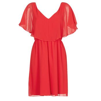 material Women Short Dresses Naf Naf LAZALE Red
