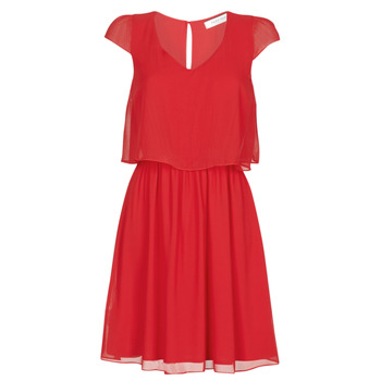 material Women Short Dresses Naf Naf NEW JOEY Red