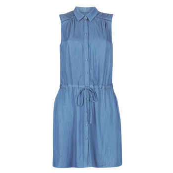 material Women Short Dresses Naf Naf LEASY R1 Blue