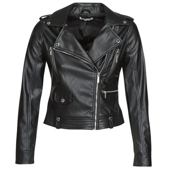 material Women Leather jackets / Imitation le Morgan GAMMA Black