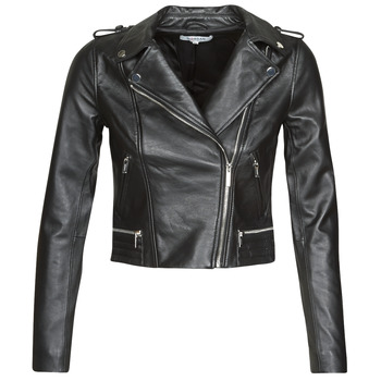 material Women Leather jackets / Imitation le Morgan GCURO Black