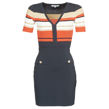 material Women Short Dresses Morgan RMDORA Marine