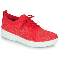 Shoes Women Low top trainers FitFlop F-SPORTY UBERKNIT SNEAKERS Red
