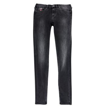 material Girl slim jeans Pepe jeans PAULETTE Black