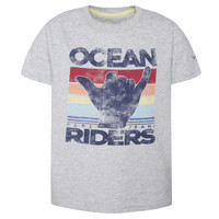 material Boy short-sleeved t-shirts Pepe jeans ACHILLE Grey