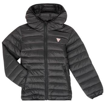 material Children Duffel coats Guess HENRIK Black