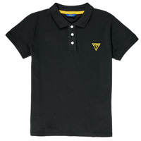 material Boy short-sleeved polo shirts Guess  Black