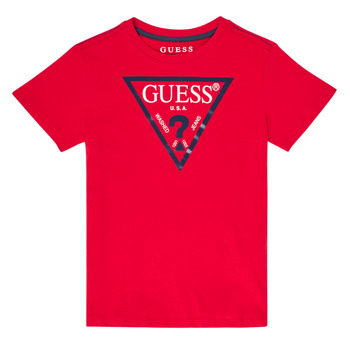 material Boy short-sleeved t-shirts Guess ILIANA Red