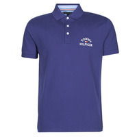 material Men short-sleeved polo shirts Tommy Hilfiger ARCH ARTWORK REGULAR POLO Marine