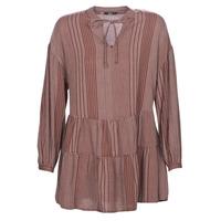 material Women Short Dresses Only ONLNEW Bordeaux