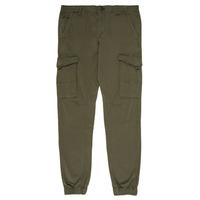 material Boy Cargo trousers Jack & Jones JJIPAUL Kaki