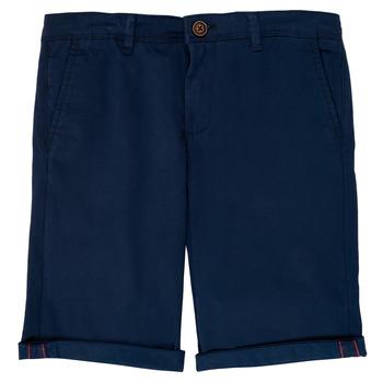 material Boy Shorts / Bermudas Jack & Jones JJIBOWIE Marine