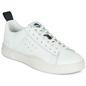 Shoes Men Low top trainers Diesel S-CLEVER LOW White