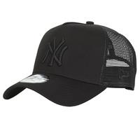 Clothes accessories Caps New-Era CLEAN TRUCKER NEW YORK YANKEES Black