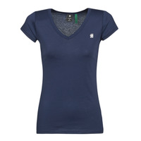 material Women short-sleeved t-shirts G-Star Raw EYBEN SLIM V T WMN SS Blue