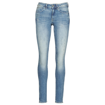 material Women Skinny jeans G-Star Raw MIDGE ZIP MID SKINNY WMN Blue