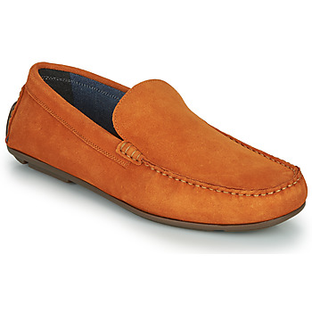 Shoes Men Loafers André BIOUTY Orange