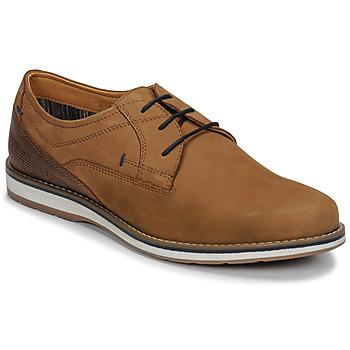 Shoes Men Derby shoes André LINOS Cognac