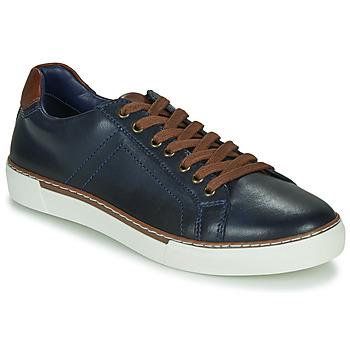 Shoes Men Low top trainers André SHANN Marine