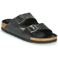 Shoes Women Mules Birkenstock ARIZONA Glitter /  black / Hex /  black