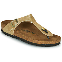 Shoes Women Flip flops Birkenstock GIZEH Gold