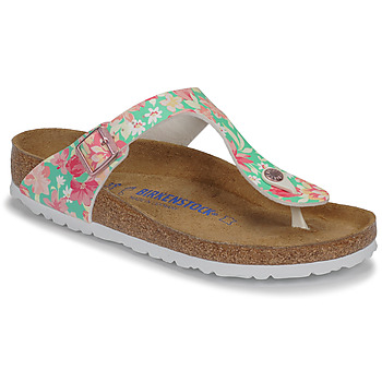 Shoes Women Flip flops Birkenstock GIZEH SFB Supernatural / Flower / Emerald