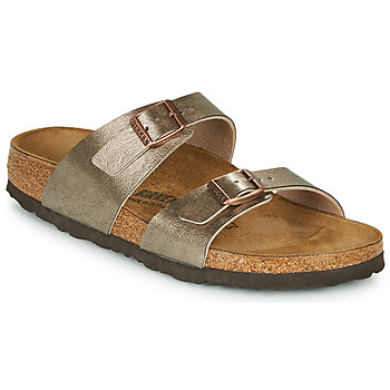 Shoes Women Mules Birkenstock SYDNEY Bronze