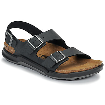 Shoes Men Sandals Birkenstock MILANO CT Desert / Soil /  black