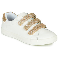 Shoes Girl Low top trainers André TRACIE White