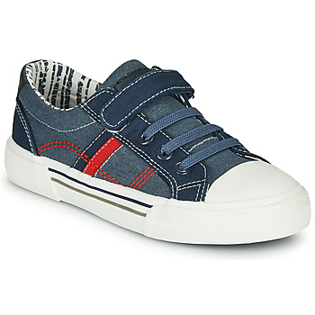 Shoes Boy Low top trainers André ALAN Blue