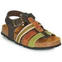Shoes Boy Sandals André TRISTAN Kaki