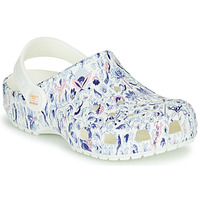 Shoes Women Clogs Crocs LIBERTY LONDON X CLASSIC LIBERTY GRAPHIC CLOG K White