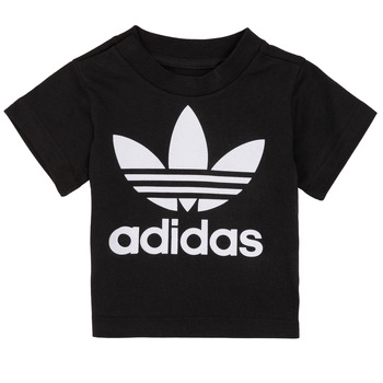 material Children short-sleeved t-shirts adidas Originals MARGOT Black