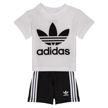material Children Sets & Outfits adidas Originals CAROLINE White / Black
