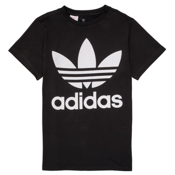 material Children short-sleeved t-shirts adidas Originals MAXENCE Black
