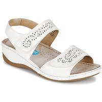 Shoes Women Sandals Damart MILANA White