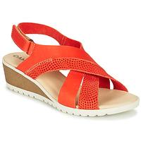 Shoes Women Sandals Damart MAYLO Paprika