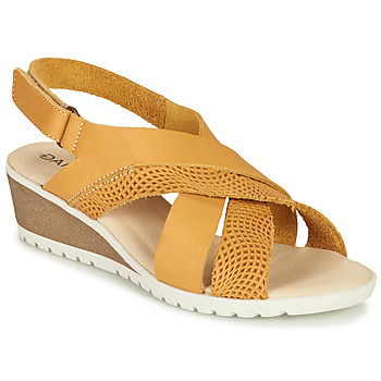 Shoes Women Sandals Damart MAYLO Yellow