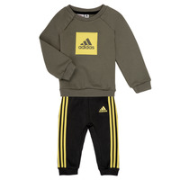 material Boy Sets & Outfits adidas Performance MERLO Grey / Yellow