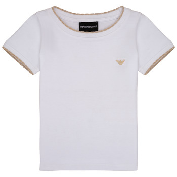 material Girl short-sleeved t-shirts Emporio Armani Allan White