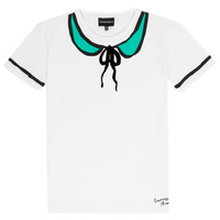 material Girl short-sleeved t-shirts Emporio Armani Anthonin White