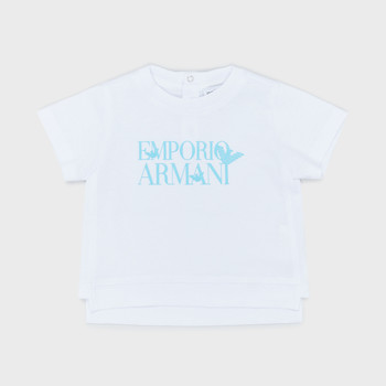 material Boy short-sleeved t-shirts Emporio Armani Arthus White
